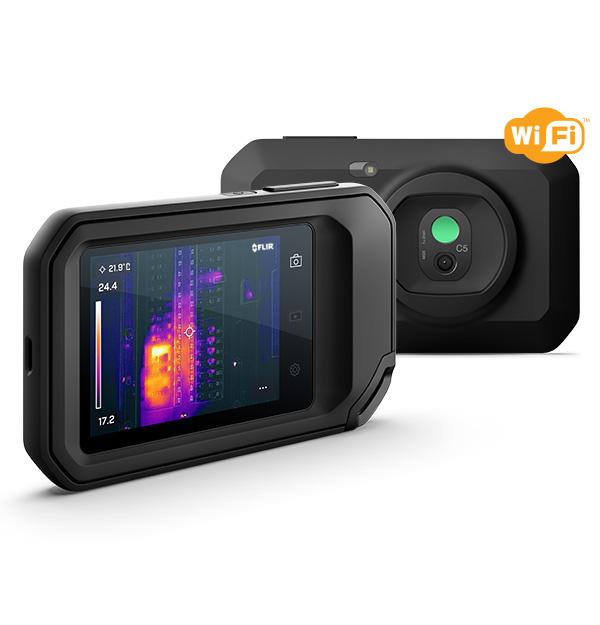 新品上市|首款Ignite云连接——FLIR C5口袋热像仪!