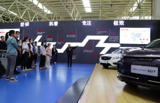"""吹响新能源车产业发展先锋号 """"绿色云南""""迎来BEIJING 强助攻"""
