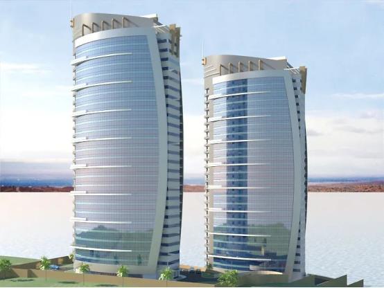 康力电梯服务刚果(金)首都金沙萨RT双子塔