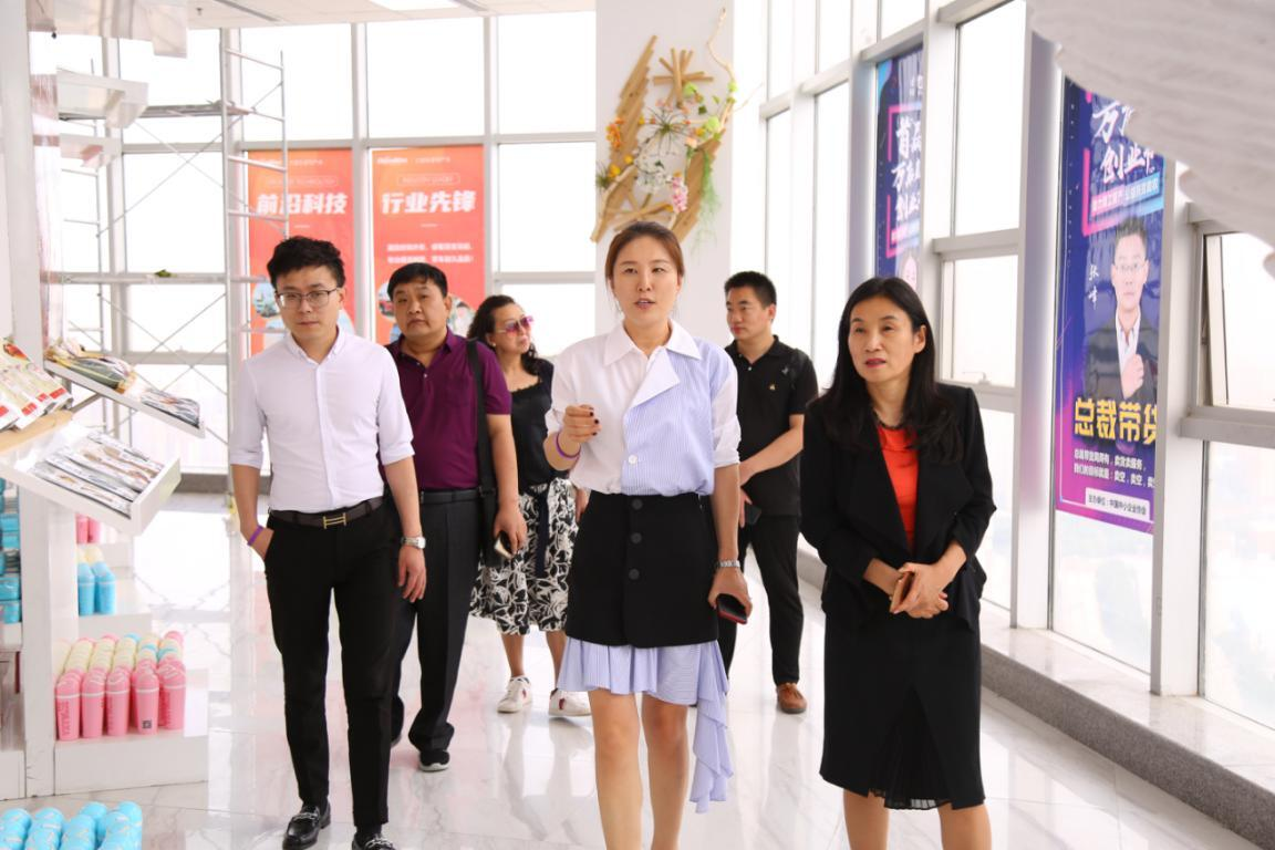 中国劳动学会张一名莅临店数科技参观指导