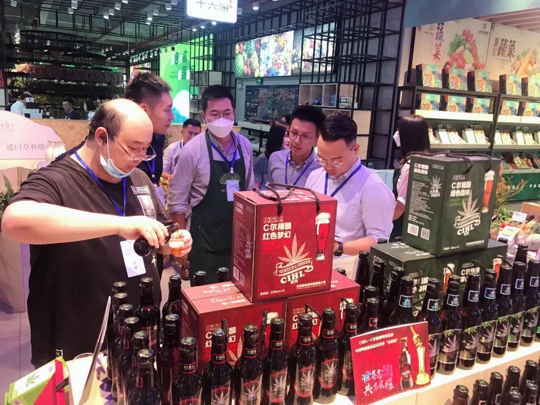 C尔精酿啤酒 国内首创云麻啤酒亮相云南高端农产品展会