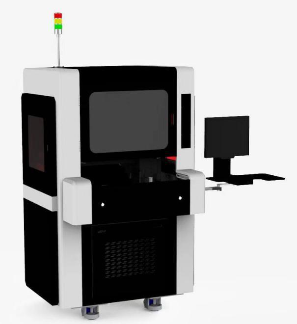 视觉同轴振镜激光焊接机