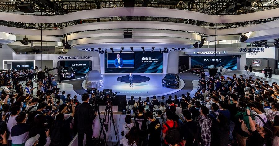现代汽车携强大阵容登陆北京车展 以HSMART+未来技术愿景勾勒