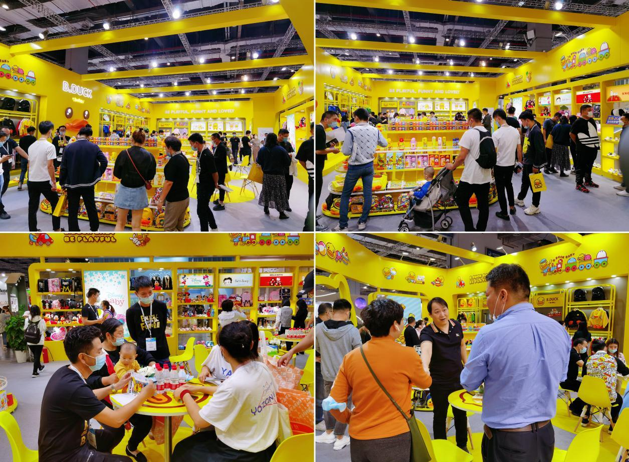 CBME盛况回顾 利讯 x B.Duck小黄鸭2020上海CBME婴童展完美落幕