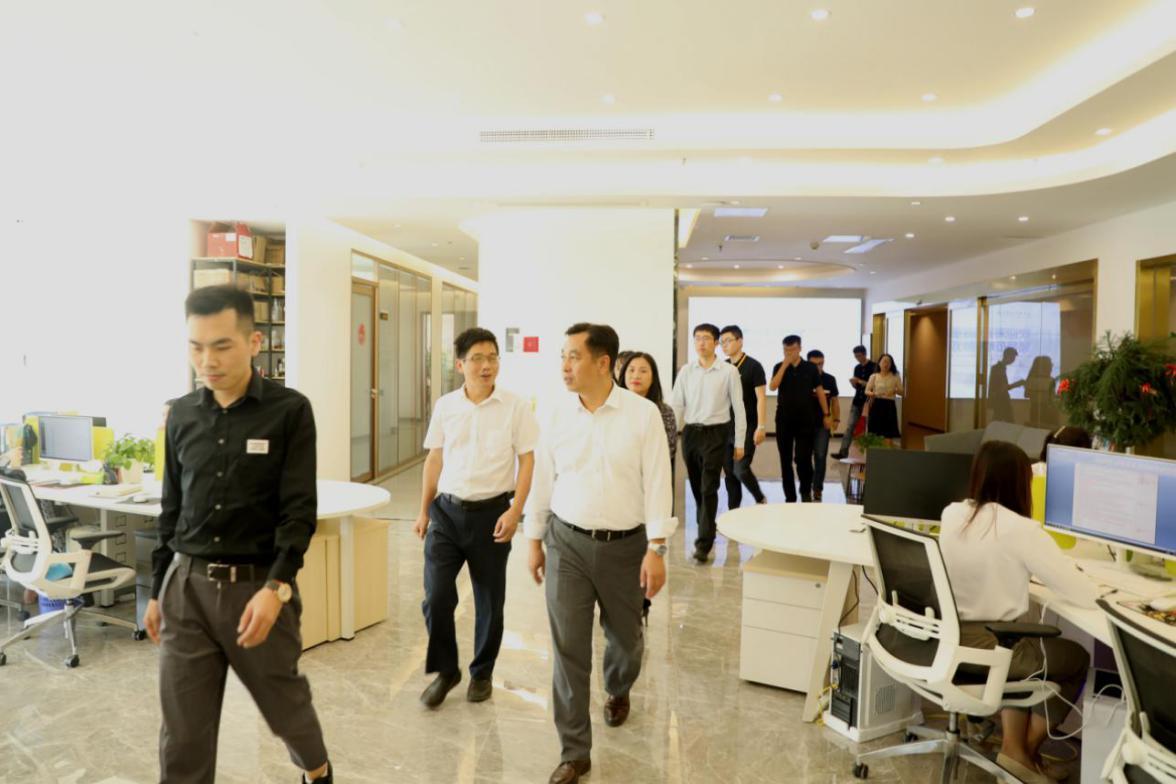 中央网信办调研小组赴泉州企业考察,高度肯定兰研MCN及公益事业