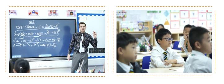 对话老师:走进惠立杭州双语学校小学部的英语课堂