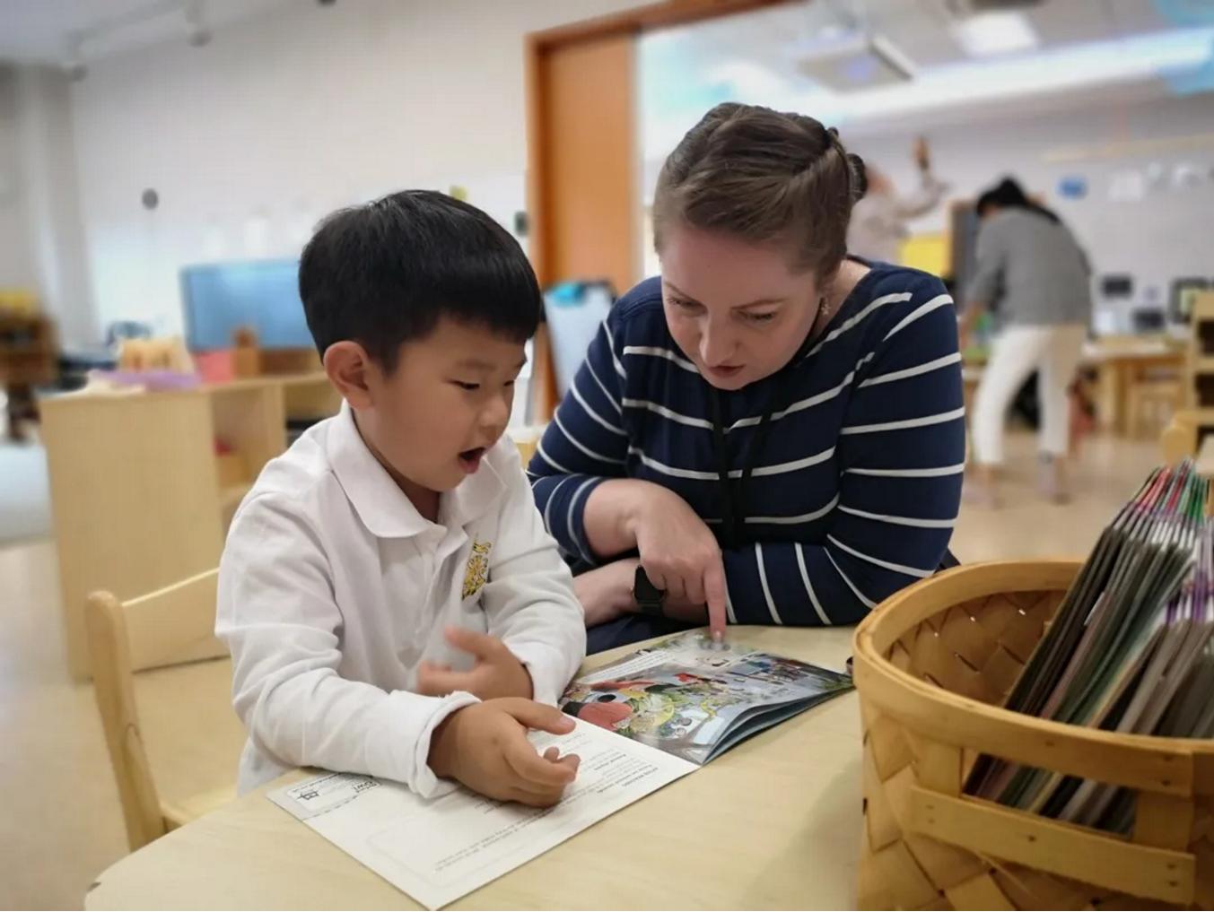 这所杭州双语幼儿园是如何提升孩子的阅读热情?