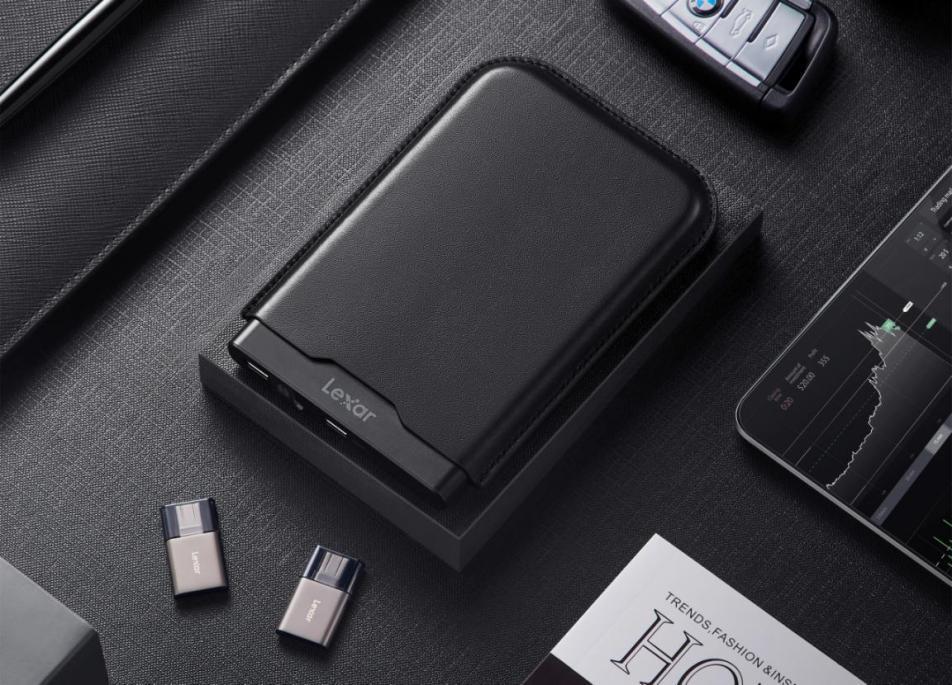 《Lexar雷克沙首推新品HL260隐形移动加密硬盘》