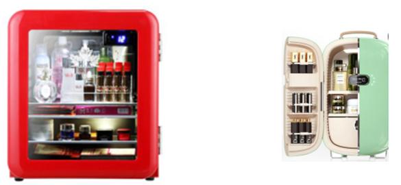 高层次护肤需求,热门化妆品冰箱横测,到底哪个更值?