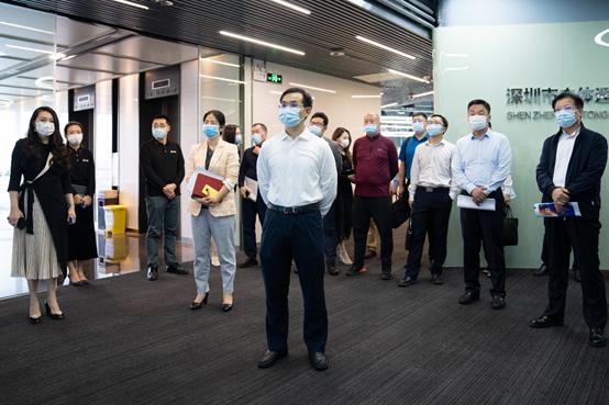 深圳市副市长聂新平率团调研三维互联网发展
