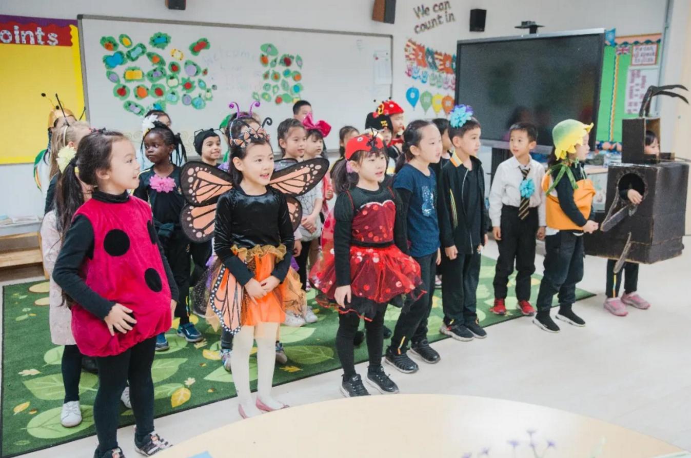 """走进天津国际学校惠灵顿课堂丨""""花朵与昆虫""""主题学习"""