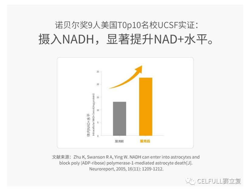 为什么说1粒赛立复力活元NADH等于4粒NMN?