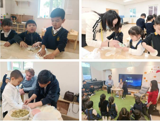 杭州惠立幼儿园里年味浓浓