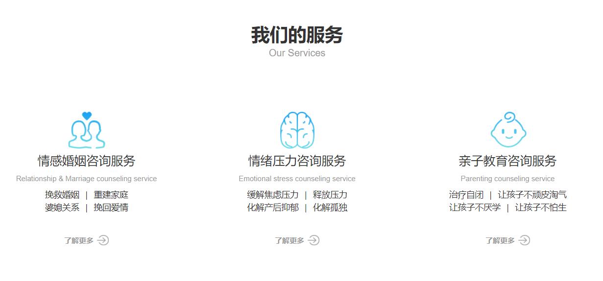 心理咨询整合行业招商运营资源的专业平台