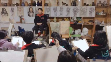 杭州画室:考中国美术学院,六月画室是专业的