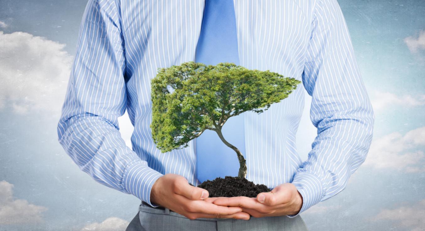 摄图网_300344367_保护树林棕榈树自然保护的象征(非企业商用)