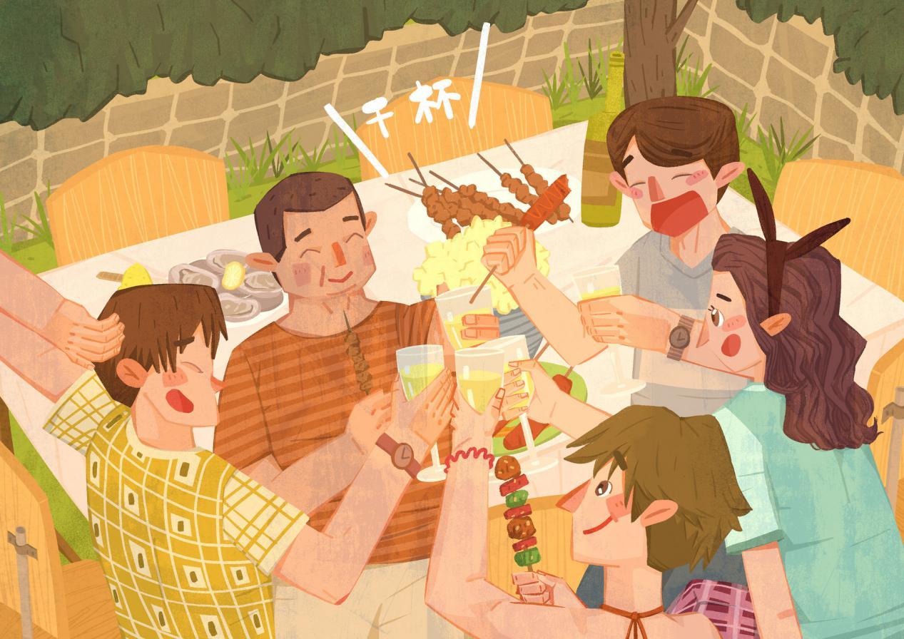 摄图网_401300768_banner_庭院烧烤(非企业商用)