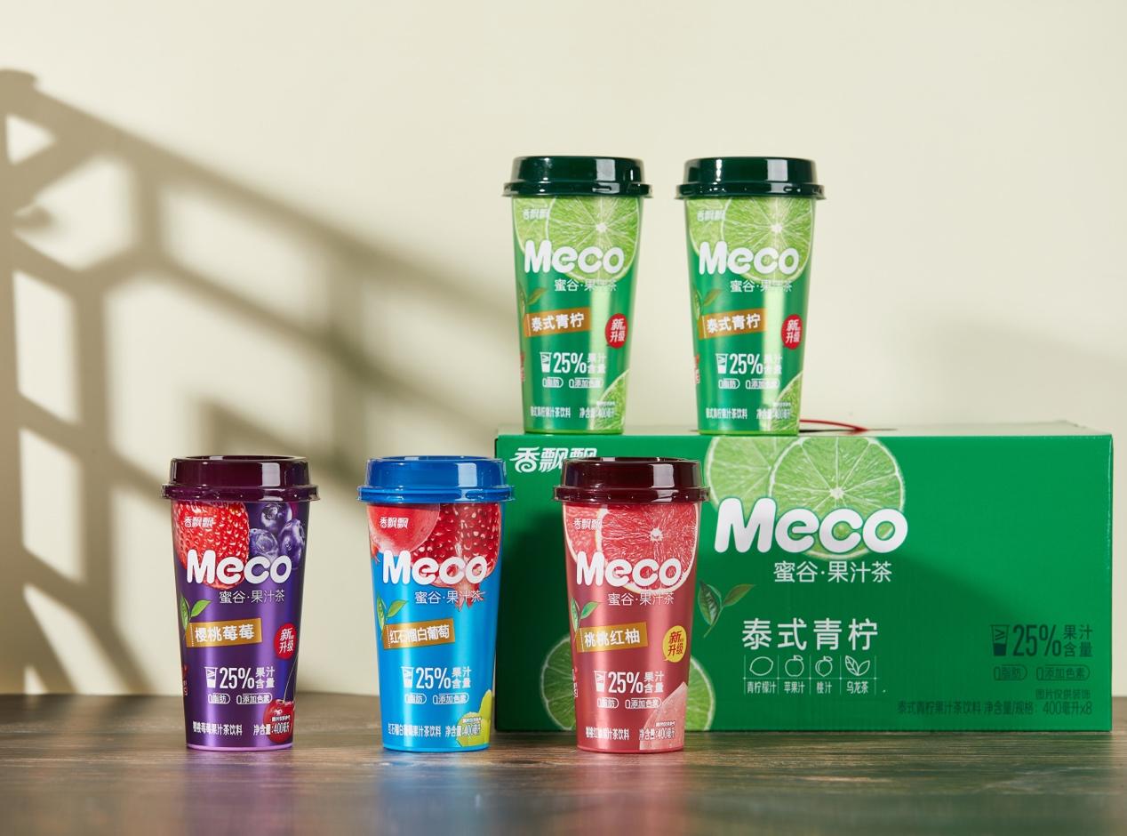 品牌日:Meco蜜谷果汁茶以真材实料引领新消费潮流