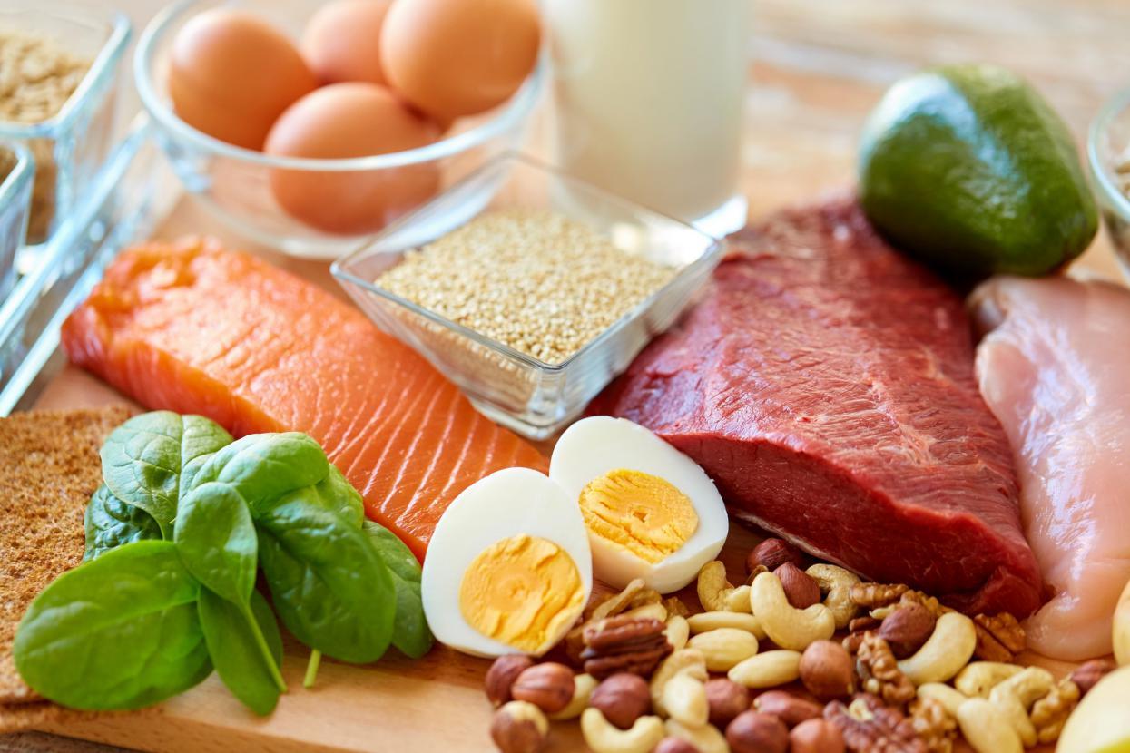 摄图网_300421379_banner_富含蛋白质的食物(非企业商用)