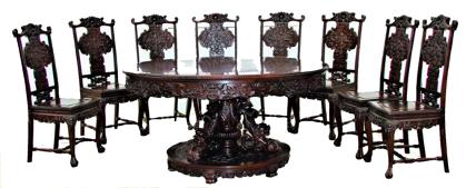 桌子上摆放着许多椅子  低可信度描述已自动生成