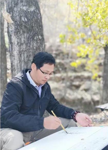 东书房签约艺术家李兆文:形神兼备是精彩作品的标准和要求