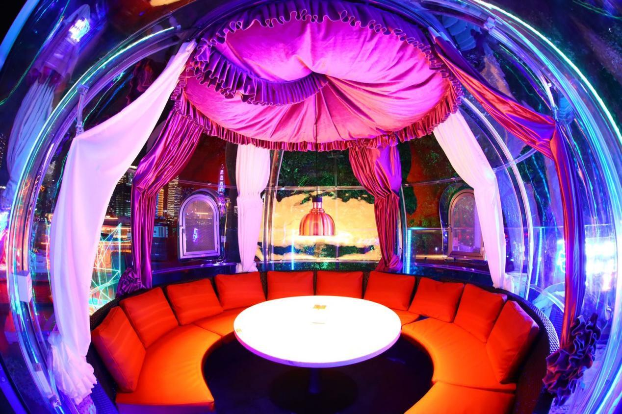 星空房的浪漫泡泡屋,与你共享
