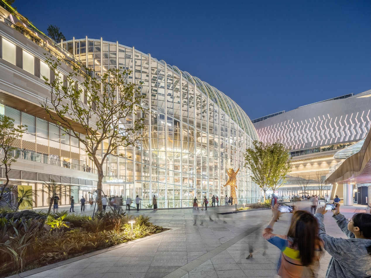 国内首个城市自然共同体——重庆光环购物公园惊艳山城