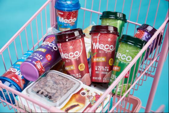 重置赛道逻辑,Meco蜜谷果汁茶引领健康茶饮新潮流
