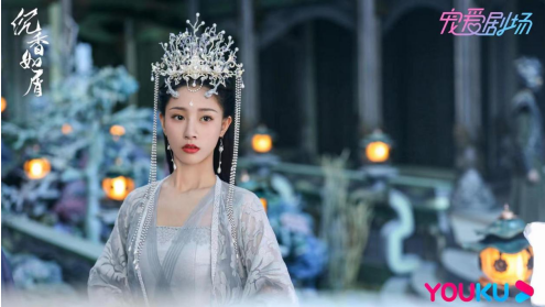 朱丽岚《沉香如屑》挑战龙族公主 虐恋情深引人期待
