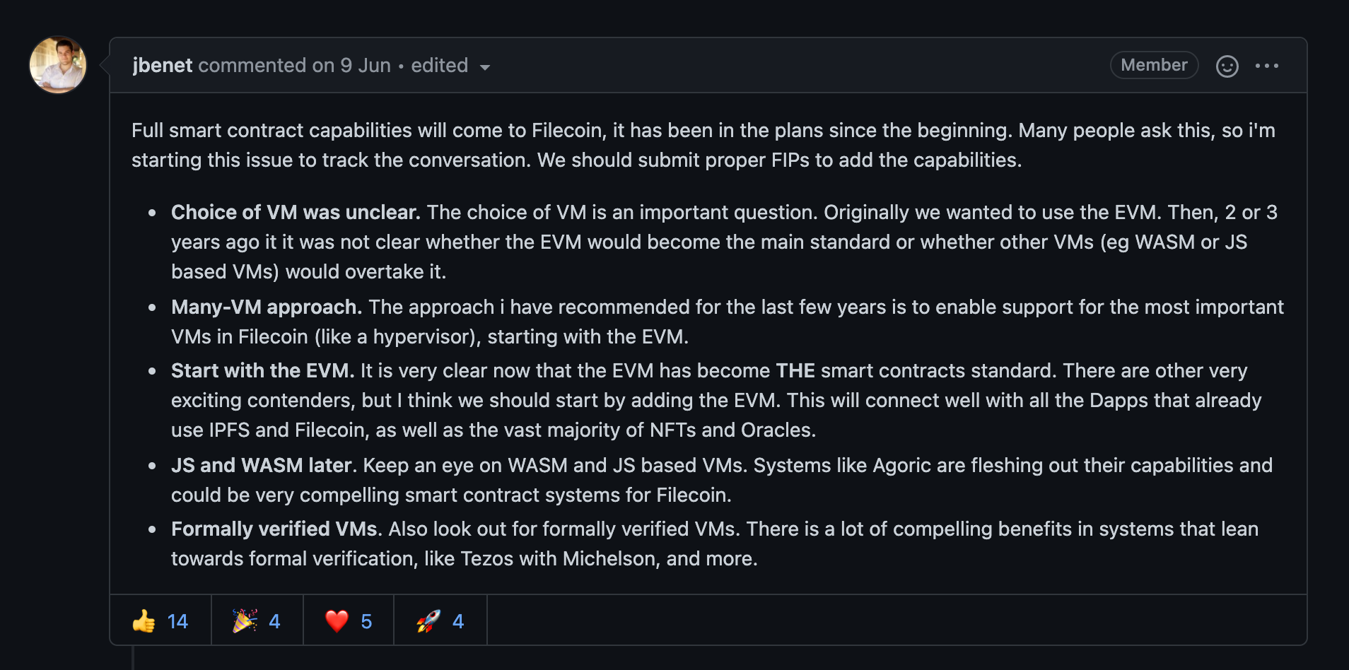 星云矿场:Filecoin将引入虚拟机 胡安精心策划的一场阳谋