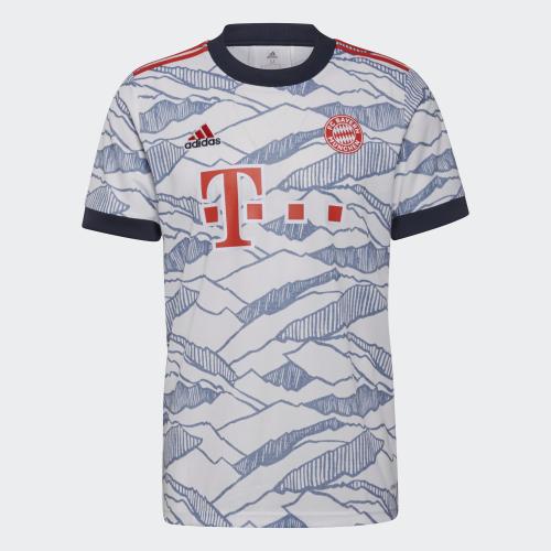 阿迪达斯拜仁慕尼黑新赛季第二客场球衣全新曝光——新旧元素的碰撞,再现赛场辉煌