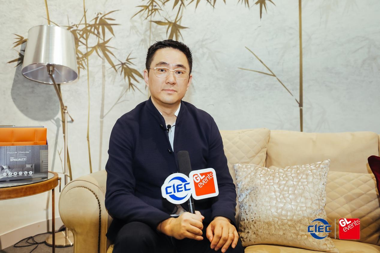 德诺壁布软装董事长董红强:通过产品表达消费