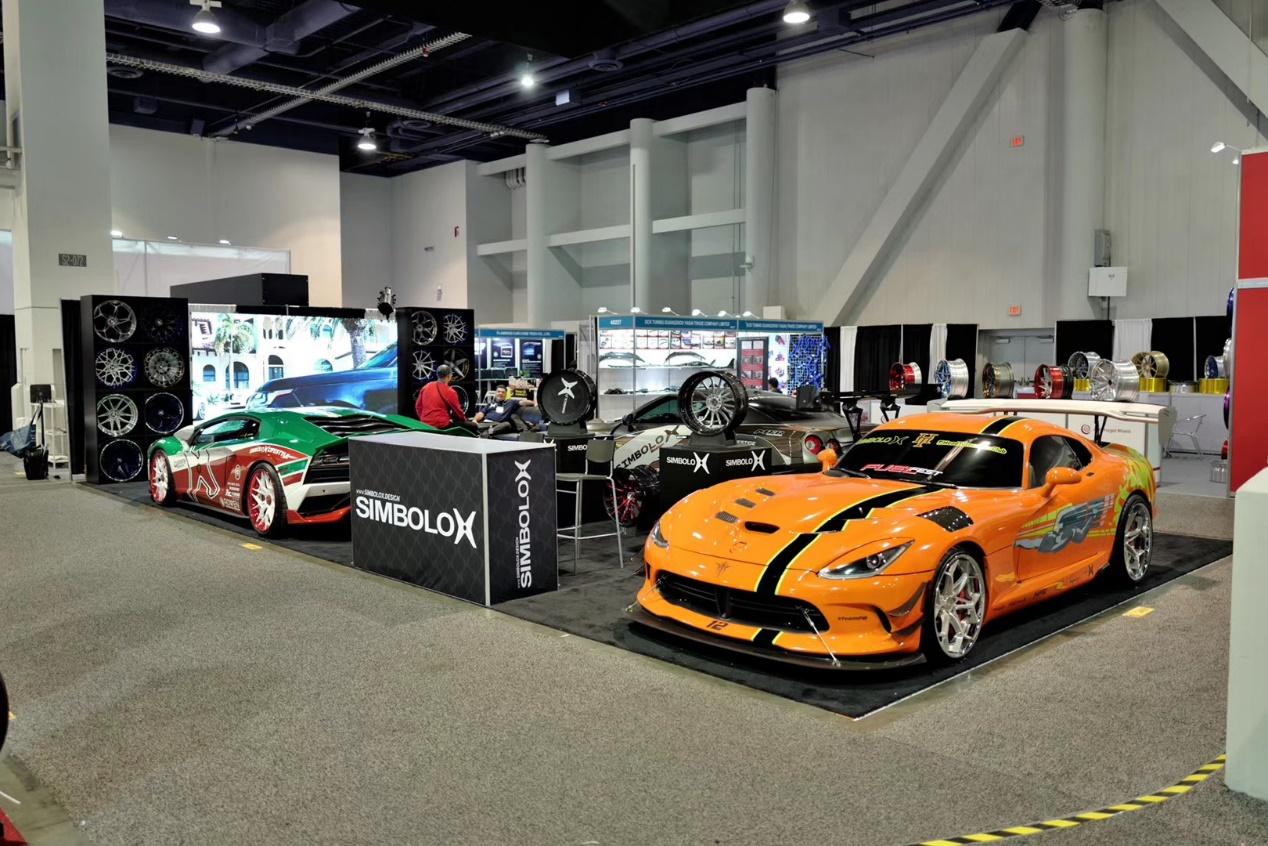 弗雷德轮毂联名美国SIMBOLO X推出电动汽车专用锻造轮毂