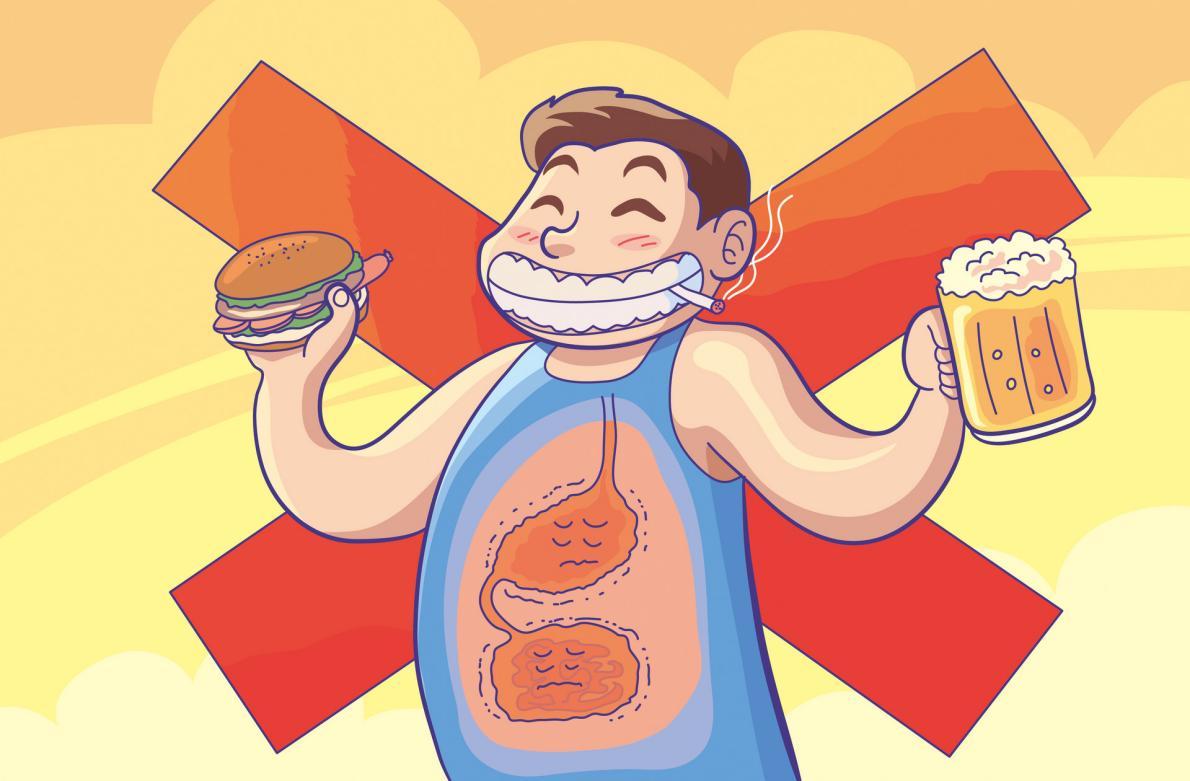 摄图网_401761140_banner_垃圾食品加重胃肠负担(非企业商用)
