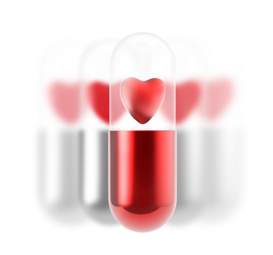 摄图网_307261955_白色胶囊内红心脏药丸(非企业商用)